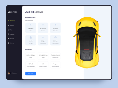 Remote control color user interface cars app userinterface minimal uiux ui concept design