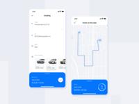 Taxi order concept