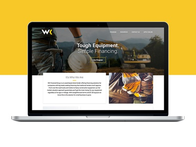 New Website for WK FInancial Group