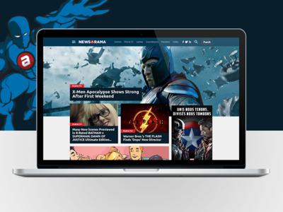 Newsarama Home Page