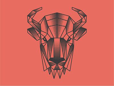 Bison Mark buffalo illustrator illustration bison