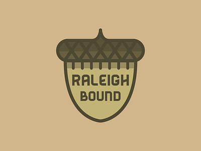 Raleigh Bound oak acorn north carolina raleigh