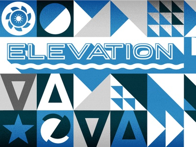 Elevation Wall Graphic