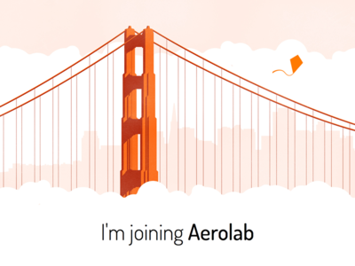 I'm joining Aerolab :D