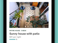 Airbnb Cards