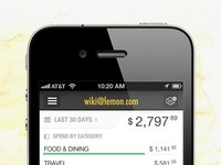 Lemon Receipts for iPhone