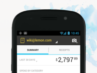 Lemon Receipts for Android