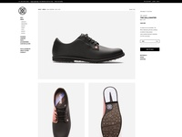 G/FORE GOLF sports golf fashion ui design product page eccomerce website