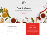 food mockup meal red fresh delicious food
