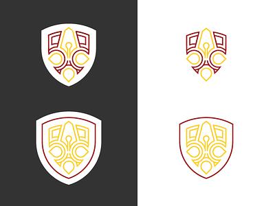 Print School Crest printing logo school shield crest