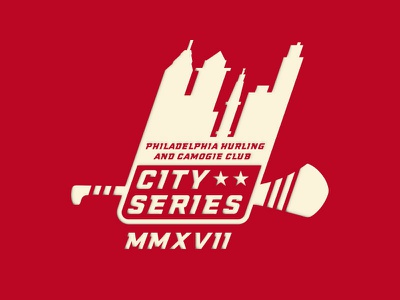 City Series 2017 sports gaa hurling city logo