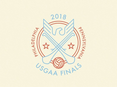 US Finals Crest 1.0 sports logo eagle roundel crest gaa hurling