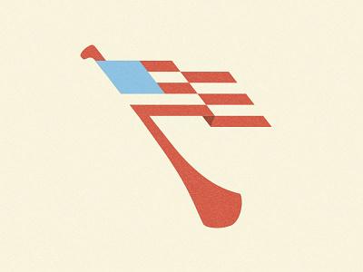 US Finals Crest 2.0 sports usa flag logo hurling gaa