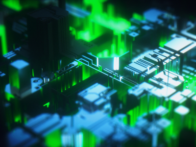 Inside Motherboard ui vector 3d 2d octane technology mexico animation berlin design otoy c4d