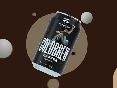 Monobrew - Coldbrew character design 2d after effects character mexico c4d animation berlin design 3d coffe