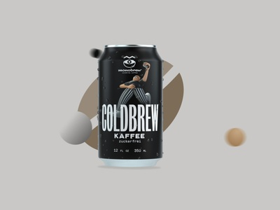 Monobrew - Coldbrew vector logo branding motiongraphics motion design character 3d c4d animation berlin design