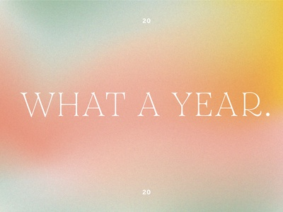 a blur of a year holiday colorful simple new year blur gradient typography