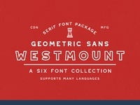 Westmount Sans Font Collection