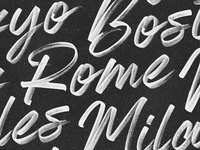 Almonte Brush Font