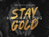 Stay Gold Font Duo