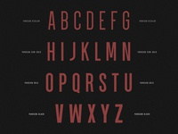 Font Weight Exploration