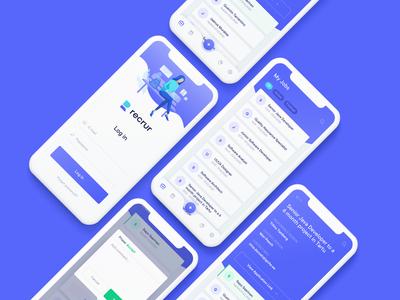 Recrur app