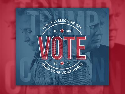 VOTE gotv presidential president vote 2016 day election