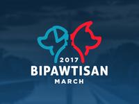 Bipawtisan March Logo