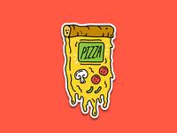 Pizza Gameboy