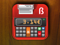 iOS Calculator icon