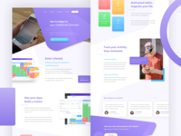 Lifestak Landing Page - Consumer Homepage