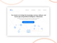 Ibriz Landing Page Design