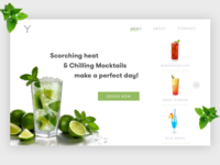 Mocktail Ordering Website