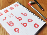 Hand-drawn Logo Variations