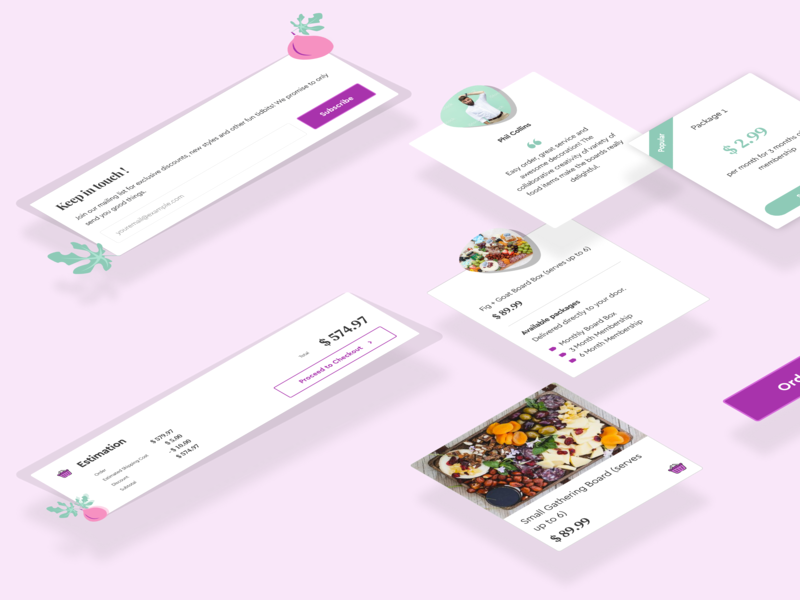 Fig+Goat Case Study illustration webui user experience user interaction user interface case study