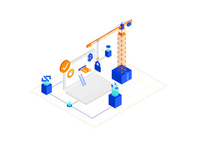 Cryptocurrency Artworks bitcoin cryptocurrency isometric design isometric art isometric isometric illustration vector artwork illustration illustrator