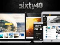 Sixty40 Bodyboarding - App Concept