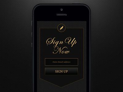 Minimal Mobile Sign Up ux ui design elegant interface sign up minimal mobile