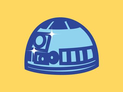 R2D2 blip blip blop