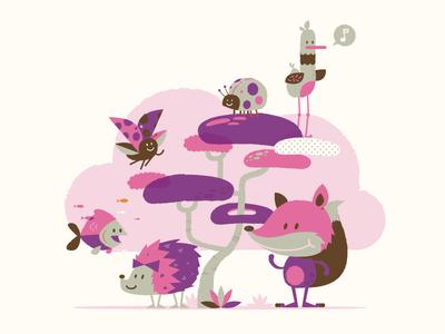 Foxy Purple