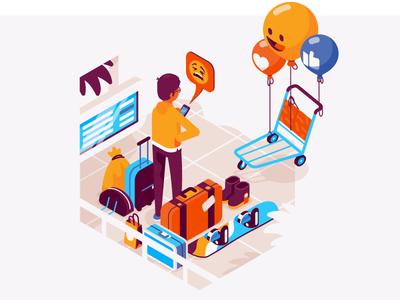 Social airport