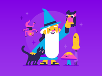 Wizard & friends