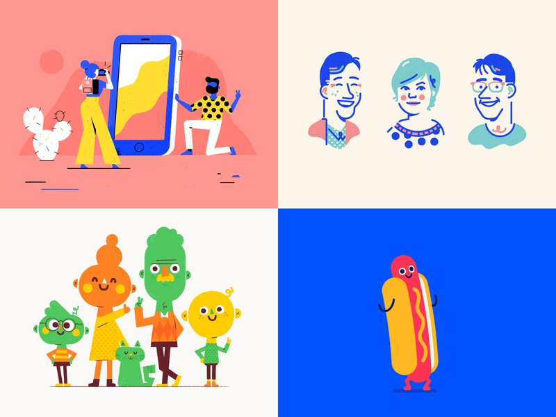 Top4shots top4shots icon woman character illustration vector patswerk