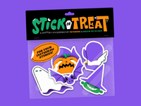 Stick or Treat Stickerpack