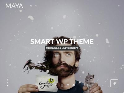 Maya - Smart & Powerfull WP Theme