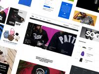 Dink e-commerce UI Kit Freebie