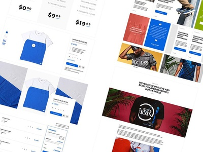 DINK e-commerce UI Kit Freebie