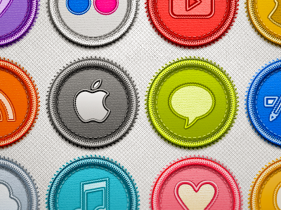 Social Badges Set please give us one like icons social photoshop ps psd png img pattern download goodie blue pink white chat apple cloud love freebie twitter facebook itunes app store free set