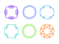 Emblems frames