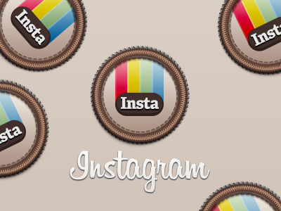 Instagram Badge instagram retro badge icon download psd free photos polaroid